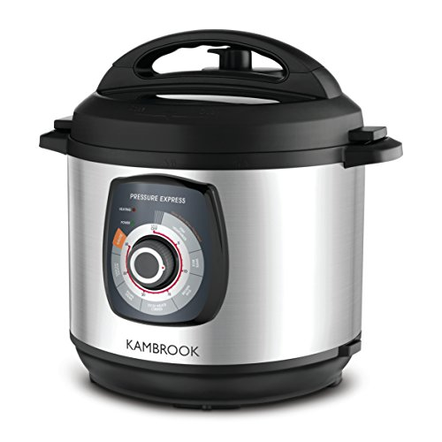 Kambrook Pressure Cooker, Brushed Stainless Steel KPR620BSS