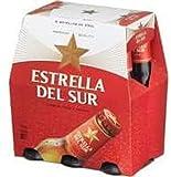 Estrella Del Sur Cerveza Lager 6 Botellas x 250ml