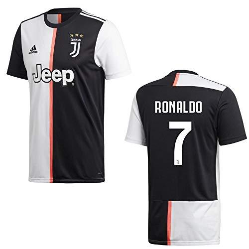 adidas Fußball Juventus Turin FC Home Trikot 2019 2020 Heimtrikot Herren Ronaldo 7 Gr XL