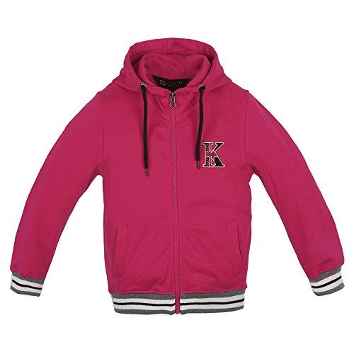 Kingland Kinder Sweatjacke mit Kapuze HENNY pink jazzy (86/92)