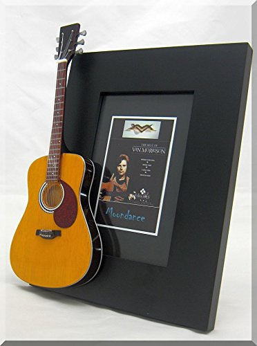 Van Morrison Miniatur-Gitarre Bilderrahmen Moondance