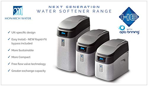 Monarch Master HE FreeFlow Water Softener Ultimate Series - Includes 15mm Hoses