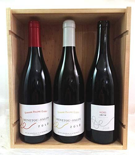 Coffret Vins Bio - Loire - 1 Menetou-Salon Blanc 2018 + 1 Mentou-Salon Rouge 2018 + 1 Hors-Série Rouge 2018