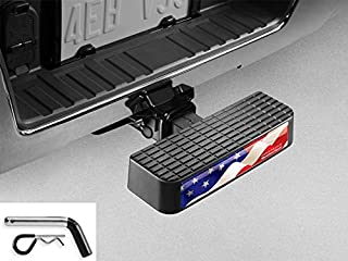 WeatherTech BumpStep USA with Hitch Pin 8ABS2WHP5