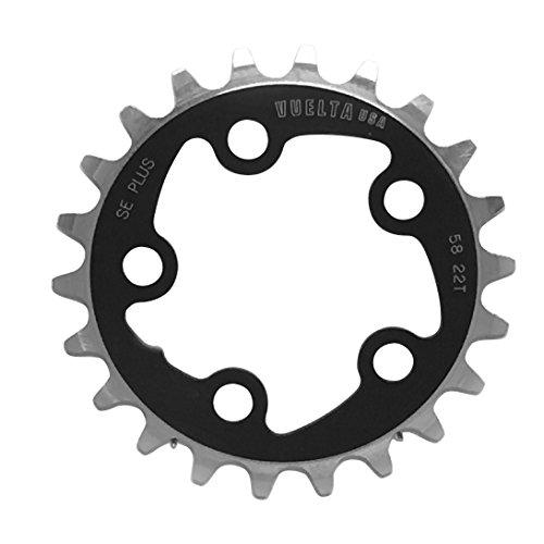 Vuelta SE Plus Kettenblatt, 868800220, Schwarz, 58x22T