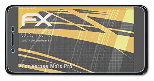 atFolix Panzerfolie kompatibel mit Vernee Mars Pro Schutzfolie, entspiegelnde & stoßdämpfende FX Folie (3X)