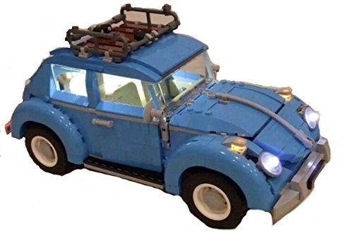 brickled LED Light Kit for 10252 Volkswagen Beetle USB Powered (Model Set not incuded)