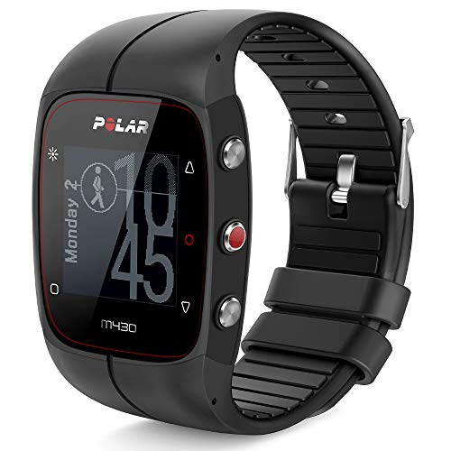 TUSITA Armband für Polar M400 / M430 - Ersatz Silikon Band Uhrenarmband Gummi Sportarmband - GPS Smart Watch Zubehör