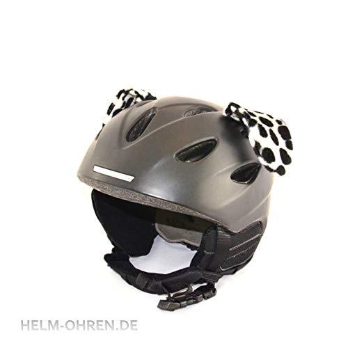"""Helm - Ohren\""""Dalmatiner-Hund\"""" für den Skihelm, Snowboardhelm, Motorradhelm oder Fahrradhelm - Coole Helmdeko/Tierohren!"""