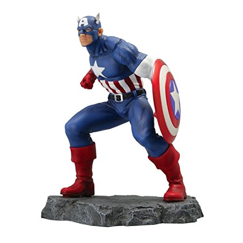 sémic - spcap01 - Estatua Captain America - Civil War - Marvel