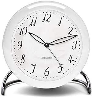 [アルネ・ヤコブセン] Clock 43670(LK) ホワイト×ホワイト FREE