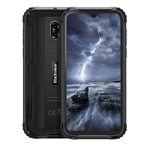 Backview BV5900 Telefoni Resistenti, 5,7 pollici HD+ 3G + 32GB Android 9.0 Cellulare Liberi Smartphone Batteria 5580 mAh, IP68 Impermeabile Antiurto, Dual SIM NFC