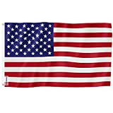 Free Walker US Flag Store 2 Packs 3x5 Ft Nylon American Flags-Bright Color and Premium Material-Longest Lasting Banner for Outside