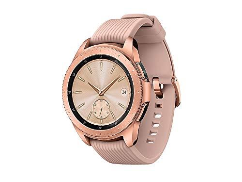 Samsung Galaxy Watch smartwatch (42mm, GPS, Bluetooth, Unlocked LTE) – Rose Gold (US Version with Warranty) 4