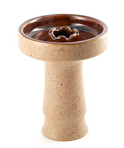 Cazoleta para Shisha o Cachimba - Compatible con Provost, Kaloud y otros gestores de calor - Cerámica