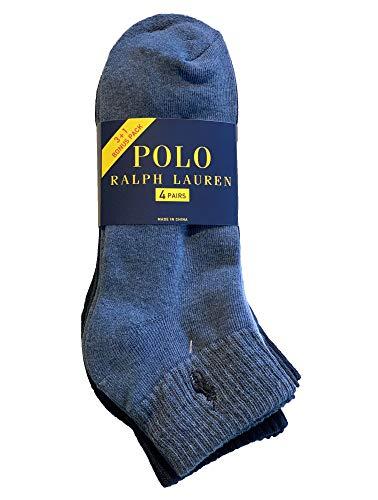 Polo Ralph Lauren - 4er-Pack Athletic Socken - Einheitsgröße (EU 39 - EU 45) - Denim sortiert