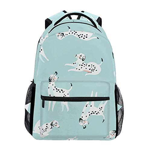 Mochila Cute Dog Animal Puppy Cartoon Blue Mochila Regalo College Printed Travel Casual Student Daypack Libro...