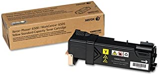 Xerox Phaser 6500/Workcentre 6505 Yellow Standard Capacity Toner Cartridge (1,000 Pages) - 106R01593