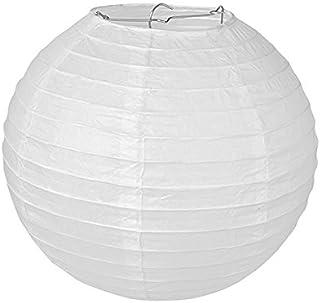 Pajoma 71697–Lámpara de techo, papel, color blanco, 35x 35x 35cm (1unidad)