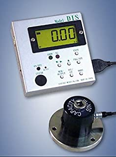 DIS-IP5 Digital Torque Tester with Flanged Remote Sensor, Capacity 44 lbf-in/ 50 kgf-cm/ 500 N-cm/ 5 N-m, 110V