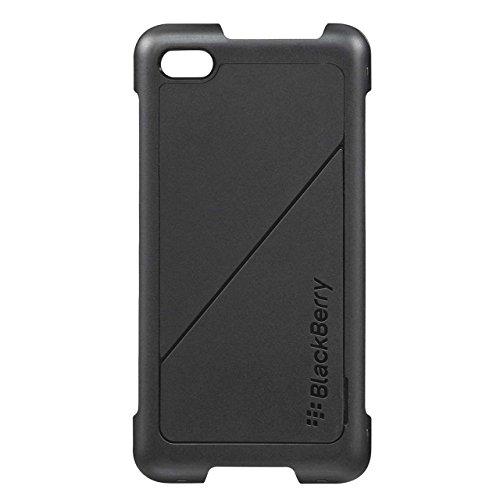 Blackberry Custodia Posteriore con Pellicola Protettiva per Modello Z30, Nero