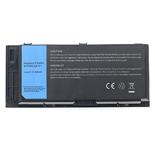 7800mah Notebook Laptop Akku für Dell Precision M4600 M-4600 M4700 M-4700 M4800 M6600 M-6600 M6700 M6800 Series FV993 FJJ4W PG6RC 7DWMT JHYP2 K4RDX V7M28 KJ321 312-1176 Batterie Battery