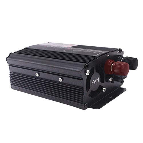 LZDseller01 Inversor para automóvil, Inversor de energía Solar para automóvil de 500 W, Transformador de 12V 24V a 220V Inversor para automóvil de Onda sinusoidal Pura, Cargador USB para automóvil