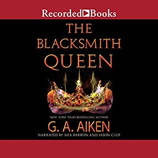 Page de couverture de The Blacksmith Queen