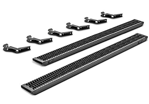 N-FAB Growler Fleet Step System | GFD20CC-TX | Textured Black, Cab Length - fits 2019 Ram 2500/3500 Crew Cab, all bed sizes