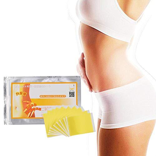 Abnehmen Nabel Sticker, 10 Stück Straffen Abnehmen Wonder Patch Body Wrap Gewichtsverlust Fettverbrennung und Cellulite-Entfernung Bauch Bauchnabel Sticker für Frauen