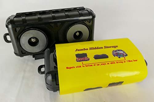 Jumbo Hidden Storage Versteckte Aufbewahrungsbox, magnetisch, Geheim-Safe für Auto, Lkw, Transporter, Schlüsselhalter, Geldkassette