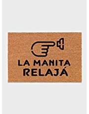 Felpudo La manita relajá - Missborderlike