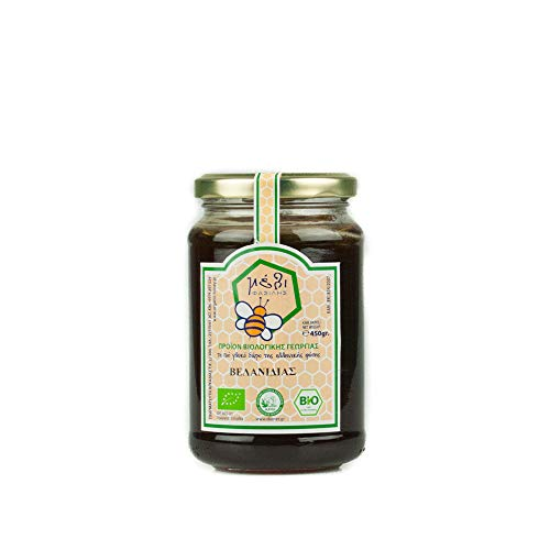 Honey Fasilis Bio Miel de Roble  - Griega 450 g