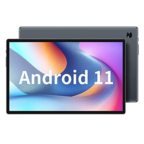 TECLAST M40 Pro Gaming Tablet 10.1 Zoll, 6GB RAM+128GB ROM Android 11 Tablett, 4G LTE+5G WLAN, T618 Acht Kern 2.0Ghz, 1920x1200FHD, 2-Kamera, GPS+BT+SIM, 7000mAh, Metall 4-Lautsprecher(512GB TF