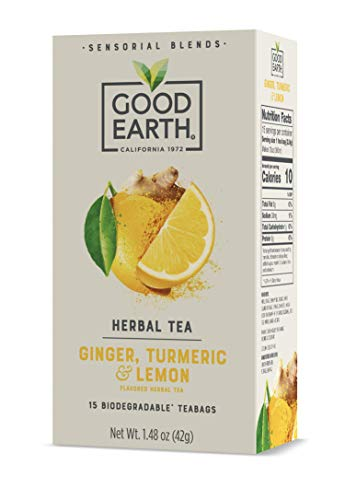 5 Pack Good Earth Sensorial Blend All Natural Herbal Tea Only $4.74 (Retail $23.73)