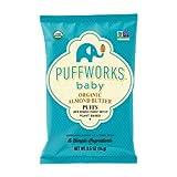 Puffworks Baby Organic Almond Butter Puffs,...