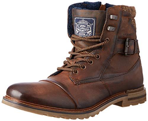 bugatti Herren 321A0U313200-6100 Mode-Stiefel, Dark Brown,43 EU