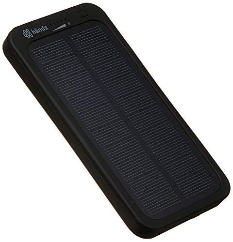Power Bank Solar - 4000 Mah - Händz Händz Händz Não se aplica, Cinza