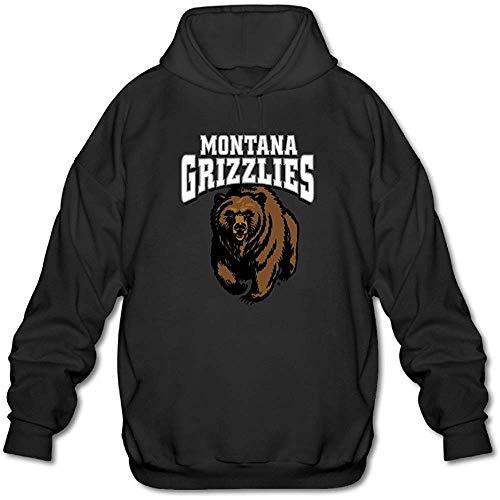 NR Men's Montana Grizzlies Classic Primary Logo Hoodie Black