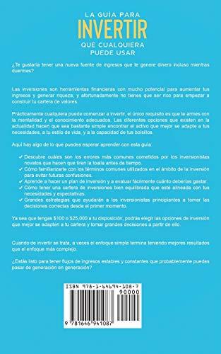41kkYbEOMYL - La Guía para Invertir que Cualquiera Puede Usar: Entendiendo como Invertir y Multiplicar tu Dinero Usando Lenguaje Sencillo y Fácil de Entender (Spanish Edition)
