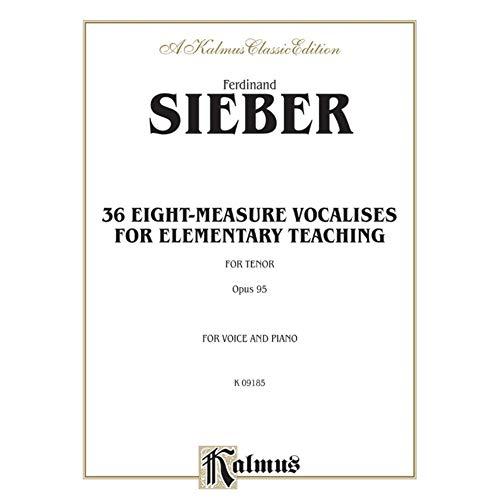 36Eight de Measure Vocalises For elemen Militar Teac de conmutación