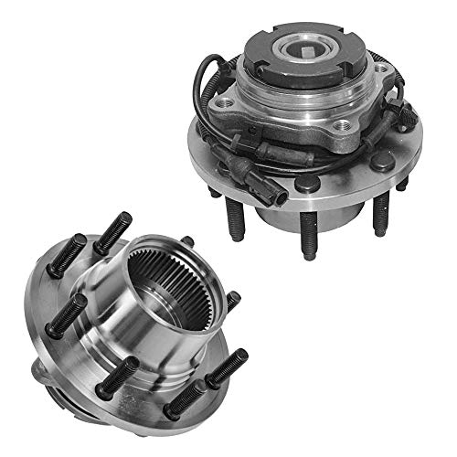 Detroit Axle - DRW 4x4 w/ABS Front Wheel Hub and Bearing Assembly Replacement...