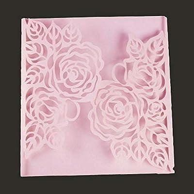 Rose Cutting Dies,Letmefun Metal Cutting Dies Stencils Scrapbooking Craft Metal Die Cut for DIY Paper Cards Making Valentine's Day Wedding Decorative