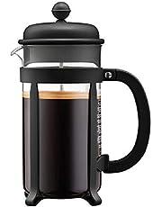 Bodum - 1908-01 - Java - Cafetera 8 Tazas - 1.0 l - Color Negro