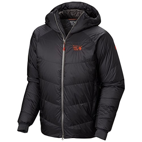 Mountain Hardwear Men's Nilas Hooded Jacket M, Shark