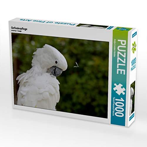 CALVENDO Puzzle Gefiederpflege 1000 Teile Lege-Größe 64 x 48 cm Foto-Puzzle Bild von Antje Lindert-Rottke