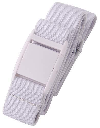 Gelante Women Invisible Belt - Elastic Adjustable Slimming No Show - 2045-White (0-14)