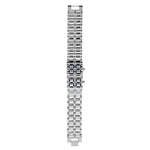 Duevin Reloj Digital para Pareja, Reloj Deportivo para Hombre, Reloj electrónico con iluminación LED(03)