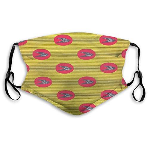 Staubmasken Vollmaske Nalunga African Inspired Wax Print Pattern Skimaske, Staubmaske, Hut Hals Gamasche Kopfbedeckung Mundmasken