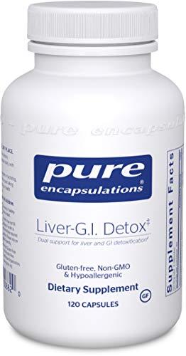 Pure Encapsulations - Liver GI Detox - Helps to Ensure Proper Nutrient Utilization in The Intestine* - 120 Capsules